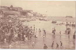 CPA Animée - RAMSGATE - The Sands - Ramsgate