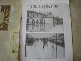 L'illustration (F), 11/1/1936, Gare De Poitiers Inondée + Sur La Route D'Addis Abeba, Aux Approches De Dessié - Livres, BD, Revues