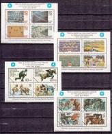 Deutschland Germany,16 Blocks,proofs,probedruck,reprints,sports,olympics,MNH/PostfrisL1568us - Nuevos