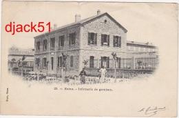 Algérie / Batna / Militaria / Infirmerie De Garnison - 1904/ 2 Scans - Batna