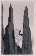 France 74, Chamonix Alpiniste, Ascension D'une Aiguille (17) - Mountaineering, Alpinism