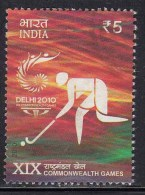 India Used 2010, , Commonwealth Games, Sport, Hockey - Boogschieten