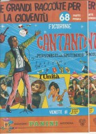 M#0F33 ALBUM FIGURINE CANTANTI PANINI 1968 RIST.Ed.UNITA´ Parte I E II - Edizione Italiana