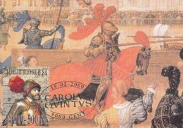 Belgi�, maximumkaarten, nr 2889, Keizer Karel, Charles Quint (6336)