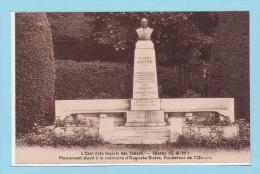 CHARNY - L´Entr´Aide Sociale Des Tabacs - Monument élevé à La Mémoire D'Auguste SIETTE - TBE - Autres Communes