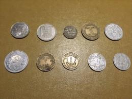 France: lot 10 monnaies/coins - pour d�butants et les �changes-  For beginners and swaps  #2