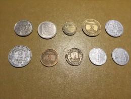 France: lot 10 monnaies/coins - pour d�butants et les �changes-  For beginners and swaps  #3