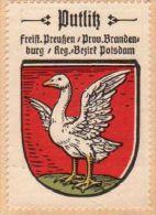 Werbemarke (Reklamemarke, Siegelmarke) Kaffee Hag : Wappen Von Putlitz - Germany