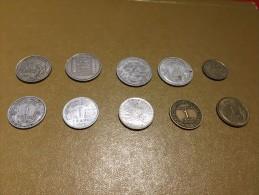 France: lot 10 monnaies/coins - pour d�butants et les �changes-  For beginners and swaps  #4