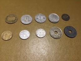 France: lot 10 monnaies/coins - pour d�butants et les �changes-  For beginners and swaps  #7