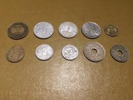 France: lot 10 monnaies/coins - pour d�butants et les �changes-  For beginners and swaps  #8