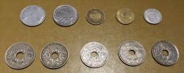 France: lot 10 monnaies/coins - pour d�butants et les �changes-  For beginners and swaps  #12
