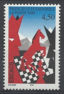Andorra (French Adm.), Chess, 1996, MNH VF - French Andorra