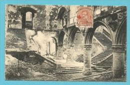 "150 Op Kaart "" Ruines De Louvain / Universite "" Met Stempel LOUVAIN 1F LEUVEN - 1918 Red Cross"
