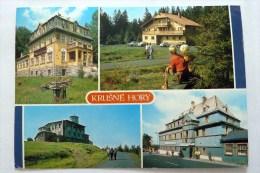 Skimagistrale Erzgebirge - Krušné Hory - Gasthaus Tschechien, AK 1979 Gelaufen, - Tchéquie