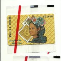 WF 12A   Jeune Fille Numéros Rouges Au Verso  Neuve Sous Blister  Luxe - Wallis And Futuna