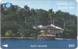Jamaica - Navy Island - 75JAMB - 1996, Used - Jamaica