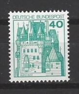 BUND - Mi-Nr. 915 Burg Eltz Postfrisch - [7] Federal Republic
