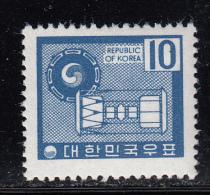Korea South MH Scott #641 10w Ancient Drums - Corée Du Sud