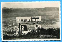 PANORAME De GENEVE - Depuis Le Téléferique Des 8 Arbres. SUISSE - GE Ginevra