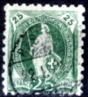 Svizzera-128 - 1888 - Unificato: N. 82 (o) - Privo Di Difetti Occulti. - Gebraucht
