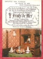 1984 - Restaurant L'Huitrerie  Charleroi - Calendriers