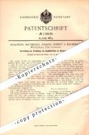 Original Patent - Johann Seibert , Holzwerk In Ransbach-Baumbach , 1900 , Vehütung Von Unglücken , Sägewerk , Tischlerei - Historische Dokumente