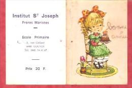 1981 - Institut St Joseph Frères Maristes - Ecole Primaire - Couvin - Calendriers
