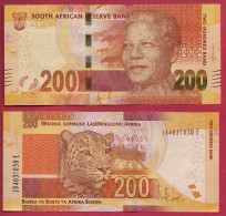 SOUTH AFRICA Banknote Mint Unc. 200 Rand Signed Mboweni - Zuid-Afrika