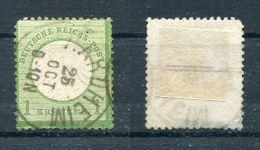 D. Reich Michel-Nr. 7 Vollstempel - Oblitérés