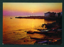 SPAIN  -  La Escala  Amanecer  Used Postcard As Scans - Other