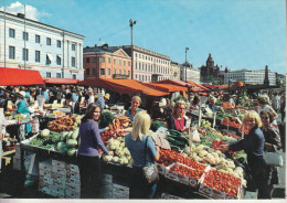 HELSINKI - The Market Place  - Très Belle Carte Animée - Finland