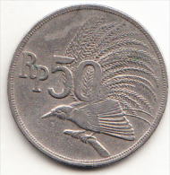 INDONESIA  1971 50 RUPIAH .AVE TROPICAL  MBC  CN4311
