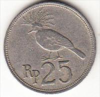 INDONESIA  1971 25 RUPIAH AVE TROPICAL   MBC  CN4311
