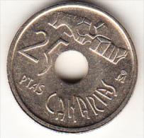 ESPAÑA 1994 .25 Pts.CANARIAS NUEVA SIN CIRCULAR. CN4312 - 25 Pesetas