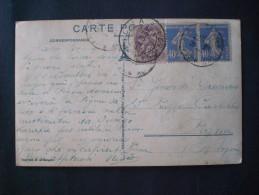 FRANCE FRANCIA POSTAL CARD NICE 1932 LE JARDIN DU MONASTERE DE CIMEZ-FI. - Parks
