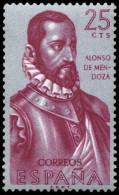 ESPAÑA SEGUNDO CENTENARIO NUEVO Nº 1454 ** 25C MALVA Y AZUL FORJADORES - 1931-Aujourd'hui: II. République - ....Juan Carlos I