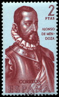 ESPAÑA SEGUNDO CENTENARIO NUEVO Nº 1458 ** 2P PURPURA FORJADORES - 1931-Aujourd'hui: II. République - ....Juan Carlos I