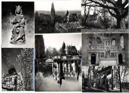 95  TAVERNY-  LOT 8 CARTES MODERNES  EGLISE   1950 / 60 - Taverny