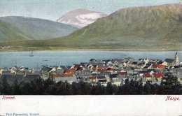 NORWEGEN TROMSÖ, Karte Um 1900 - Norwegen