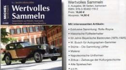 Sammel-Magazin Wertvolles Sammeln # 2/2015 Neu 15€ MICHEL Luxus Information Of The World New Special Magacine Of Germany - Collections
