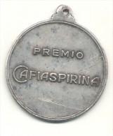 PREMIO CAFIASPIRINA - REPUBLICA ARGENTINA MEDALLA LABORATORIOS BAYER CIRCA 1960 ORIGINAL DRUGS MEDICAMENTOS REMEDIOS - Professionali / Di Società