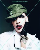 Marilyn Manson - 0003 - Glossy Photo 8 X 10 Inches - Célébrités