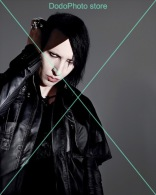 Marilyn Manson - 0030 - Glossy Photo 8 X 10 Inches - Célébrités