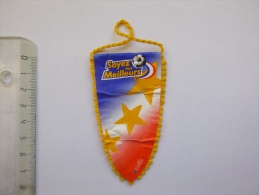 Petit Fanion De Foot Nutella Equipe De France 98 De Football - Coupe Du Monde 1998 - Nutella
