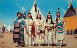 Indian Maidens  - Unused - Native Americans