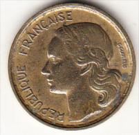 FRANCIA 1952B.  10 FRANCOS   MBC GRABADOR GUIRAUD   CN4312 - Francia