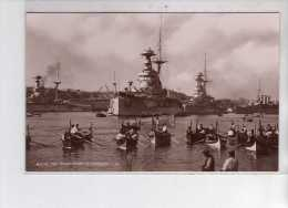 MALTE - The Grand Fleet In Harbour - Très Bon état - Malte