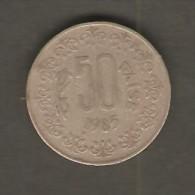 INDIA   50 PAISE  1985  (KM # 6.5) - India