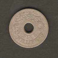 EGYPT    5 MILLIEMES  1917 (AH 1335)  (KM # 315) - Egypt